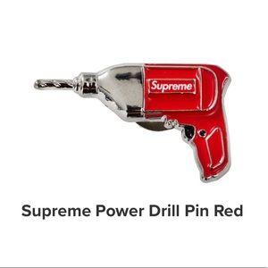 Authentic Supreme Power Drill Pin